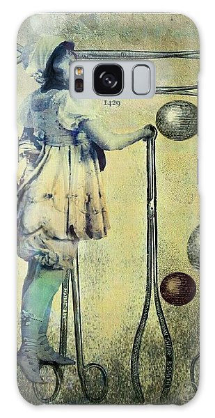 Galaxy Case featuring the digital art The Doctor Will See You Now by Delight Worthyn