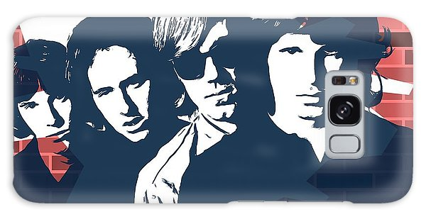 Strange Galaxy Case - The Doors Graffiti Tribute by Dan Sproul