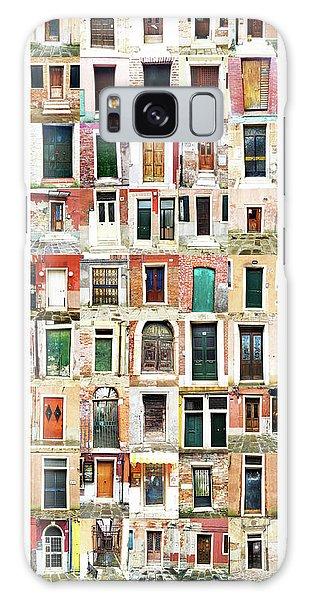 The Doors Of Murano Italy Galaxy Case
