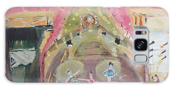 The Dress Rehearsel Galaxy Case by Judith Desrosiers