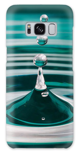 The Drop Galaxy Case by Yvette Van Teeffelen