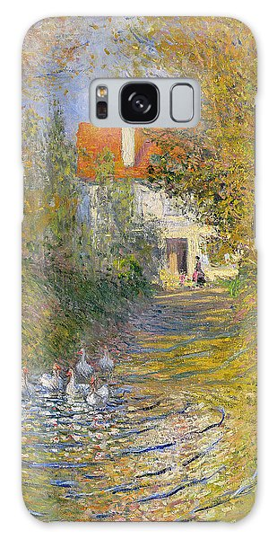 Duck Galaxy Case - The Duck Pond by Claude Monet