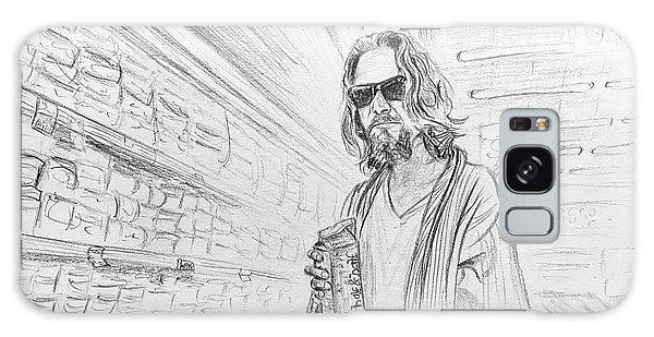 The Dude Abides Galaxy Case