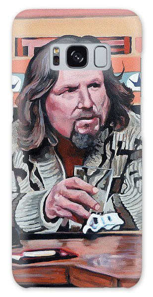 The Dude Galaxy Case by Tom Roderick