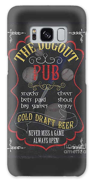 Gamble Galaxy Case - The Dugout Pub by Debbie DeWitt