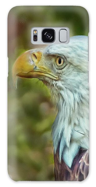 Galaxy Case featuring the photograph The Eagle Look by Hanny Heim