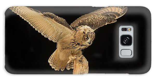The Eagle-owl Has Landed Galaxy Case