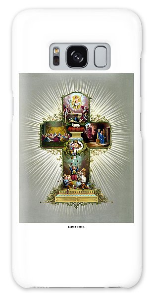 Savior Galaxy Case - The Easter Cross by War Is Hell Store