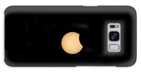The Eclipse Begins Galaxy Case