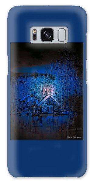 The Edge Of Night Galaxy Case by Steve Warnstaff