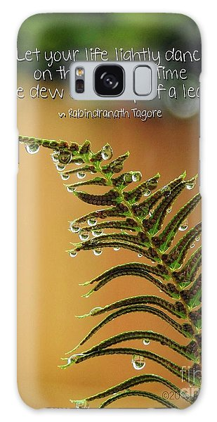 Galaxy Case featuring the photograph The Edges Of Time by Peggy Hughes