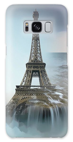 The Eiffel Tower In Montage Galaxy Case