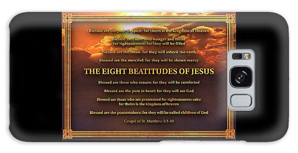 The Eight Beatitudes Of Jesus Galaxy Case
