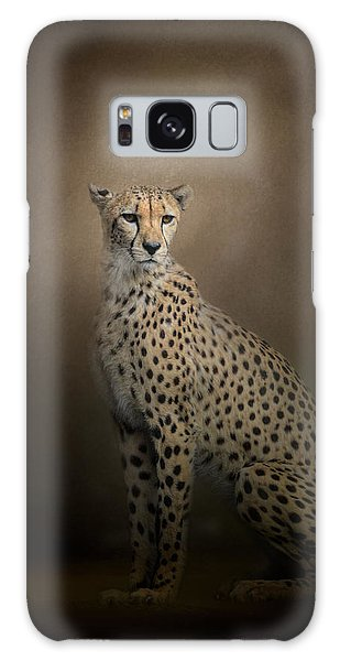 The Elegant Cheetah Galaxy Case
