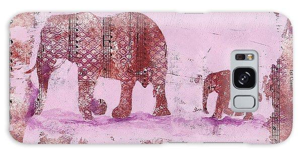 The Elephant March Galaxy Case