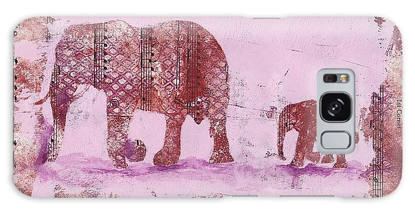 The Elephant March Galaxy Case