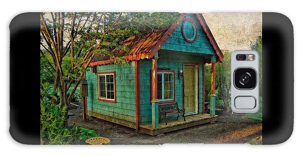 The Enchanted Garden Shed Galaxy Case by Thom Zehrfeld