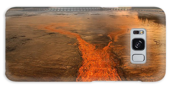 The Enchantment Of Grand Prismatic Spring Galaxy Case