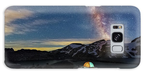 Mountain Trekking Galaxy Case