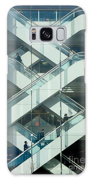 The Escalators Galaxy Case by Colin Rayner