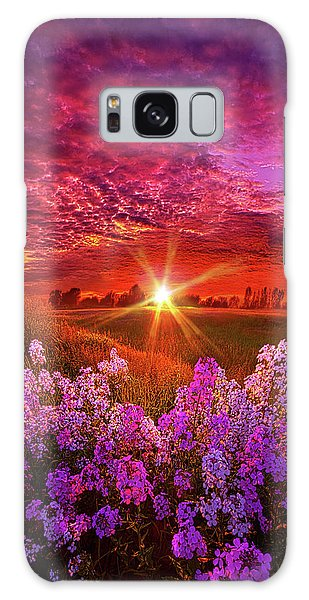 Galaxy Case featuring the photograph The Everlasting by Phil Koch