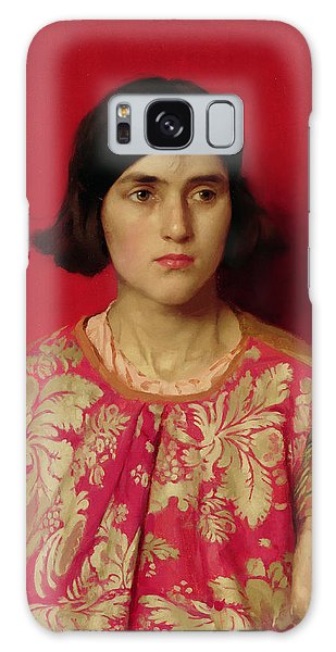 Heartache Galaxy Case - The Exile - Heavy Is The Price I Paid For Love by Thomas Cooper Gotch