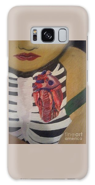 The Exposed Heart Of An Angel Galaxy Case by Talisa Hartley