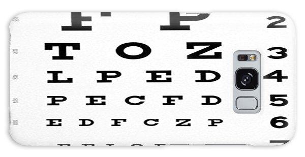 The Eye Chart Galaxy Case