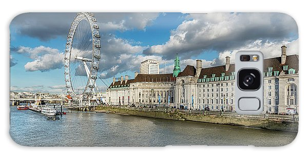 London Eye Galaxy Case - The Eye London by Adrian Evans