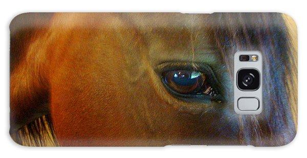 The Eye Of Beauty Galaxy Case