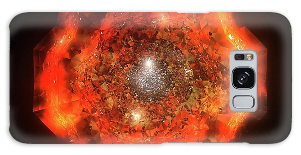 Galaxy Case - The Eye Of Cyma - Fire And Ice - Frame 146 by Jules Gompertz