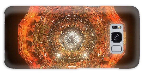 Galaxy Case - The Eye Of Cyma - Fire And Ice - Frame 160 by Jules Gompertz