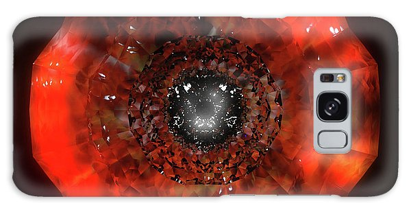 The Eye Of Cyma - Fire And Ice - Frame 40 Galaxy Case