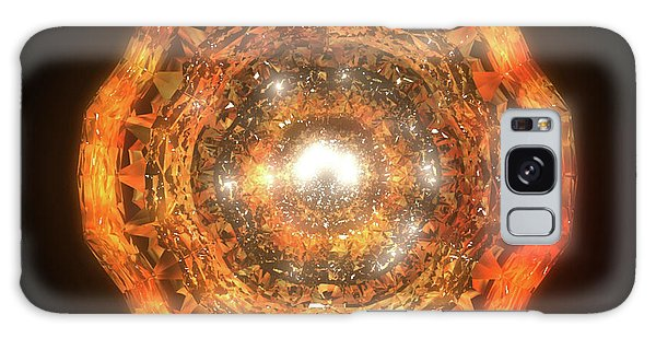 Galaxy Case - The Eye Of Cyma - Fire And Ice - Frame 7 by Jules Gompertz