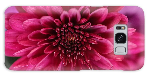The Eye Of Pink Flower Galaxy Case