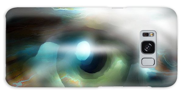 The Eye Of The Storm Galaxy Case by Bob Salo
