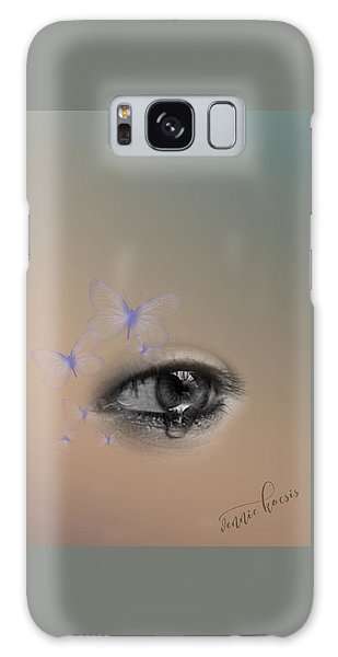 The Eyes Don't Lie Galaxy Case