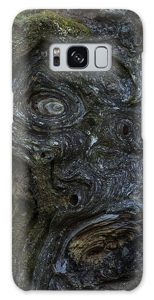 The Face Signed Galaxy Case