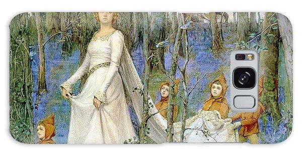 Elf Galaxy Case - The Fairy Wood by Henry Meynell Rheam