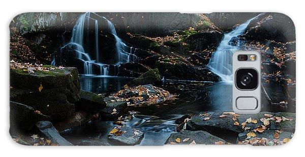 The Falls Of Black Creek In Autumn IIi Galaxy Case
