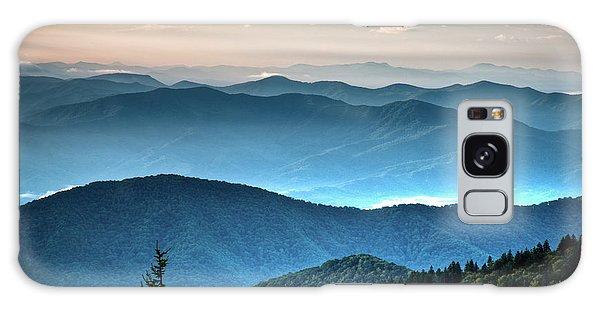 The Far Blue Smoky Mtns. Galaxy Case