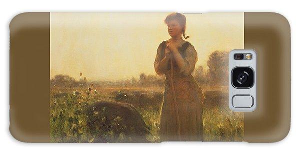 The Farm Girl Galaxy Case by Arthur Hacker