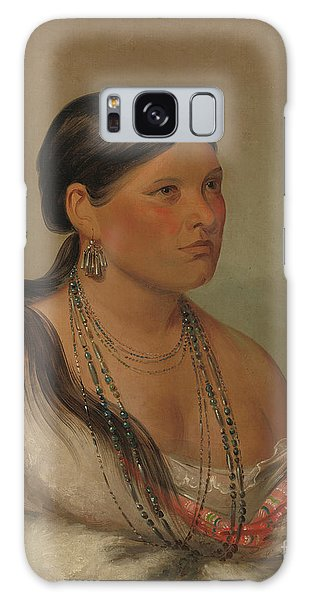 The Eagles Galaxy Case - The Female Eagle, Shawano, 1830 by George Catlin