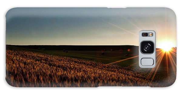 Galaxy Case featuring the photograph The Field Of Gold by Mark Dodd