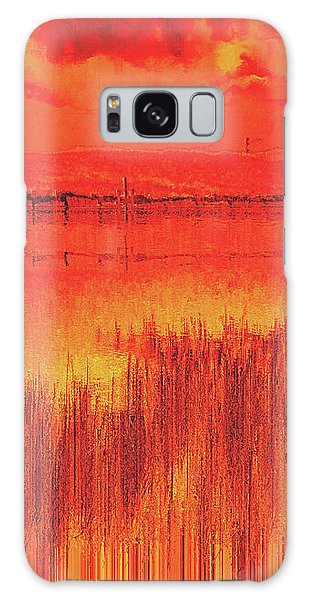 Galaxy Case featuring the digital art The Final Paragraph by Wendy J St Christopher