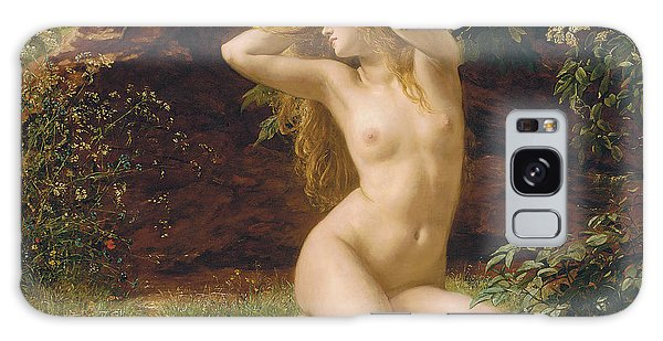 Sitting Nude Galaxy Case - The First Awakening by Valentine Cameron Prinsep