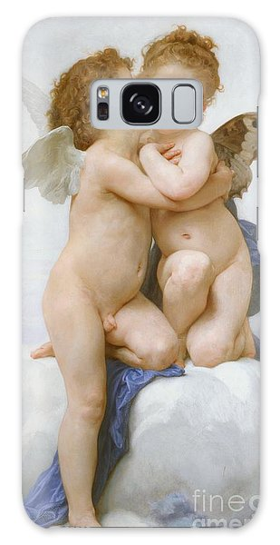 Angel Galaxy Case - The First Kiss  by William Adolphe Bouguereau