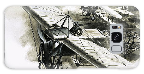 The First Reconnaissance Flight By The Rfc Galaxy Case by Wilf Hardy