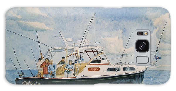 The Fishing Charter - Cape Cod Bay Galaxy Case