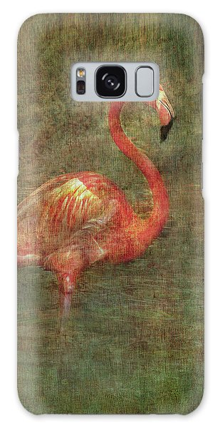 Galaxy Case featuring the photograph The Flamingo by Hanny Heim